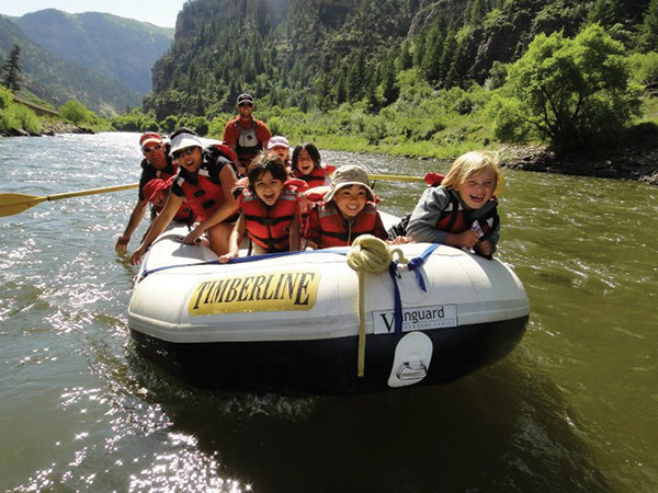 dinosaur whitewater rafting trip family friendly